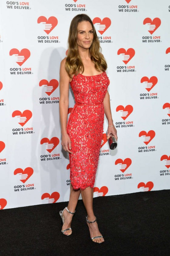 Hilary Swank: 2013 Golden Heart Awards Celebration -04
