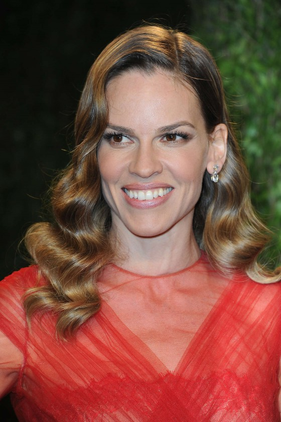 Hilary Swank - Oscar 2013 - Vanity Fair Party -02