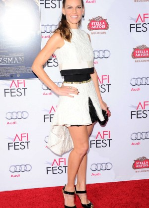 "Hilary Swank - ""The Homesman"" Screening at the AFI Fest in Hollywood"