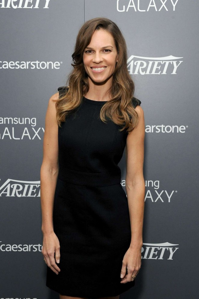 Hilary Swank - Variety Studio: Actors On Actors in LA