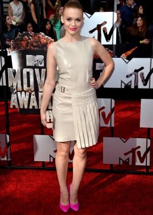 Holland Roden: 2014 MTV Movie Awards -01