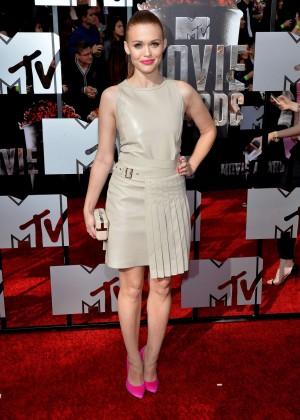 Holland Roden: 2014 MTV Movie Awards -05