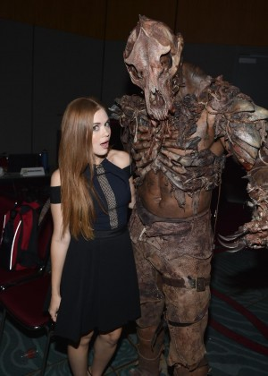 "Holland Roden at ""Teen Wolf"" Comic-Con 2014 Panel"