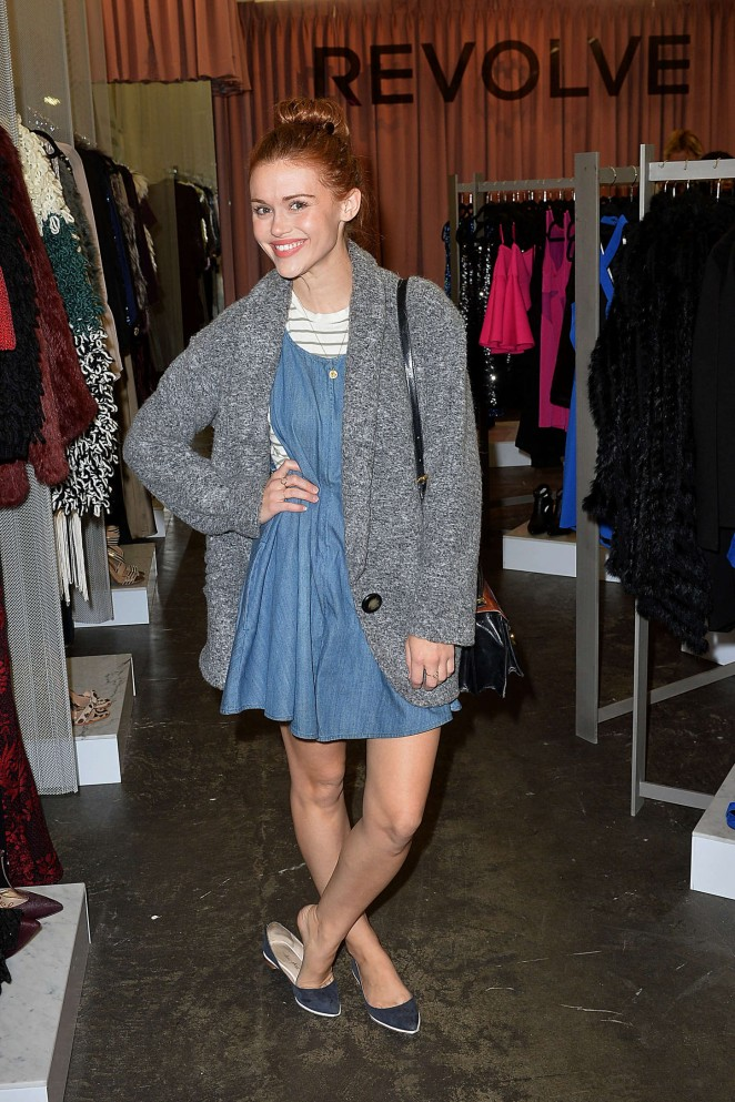 Holland Roden - Revolve PopUp Store Opening in LA