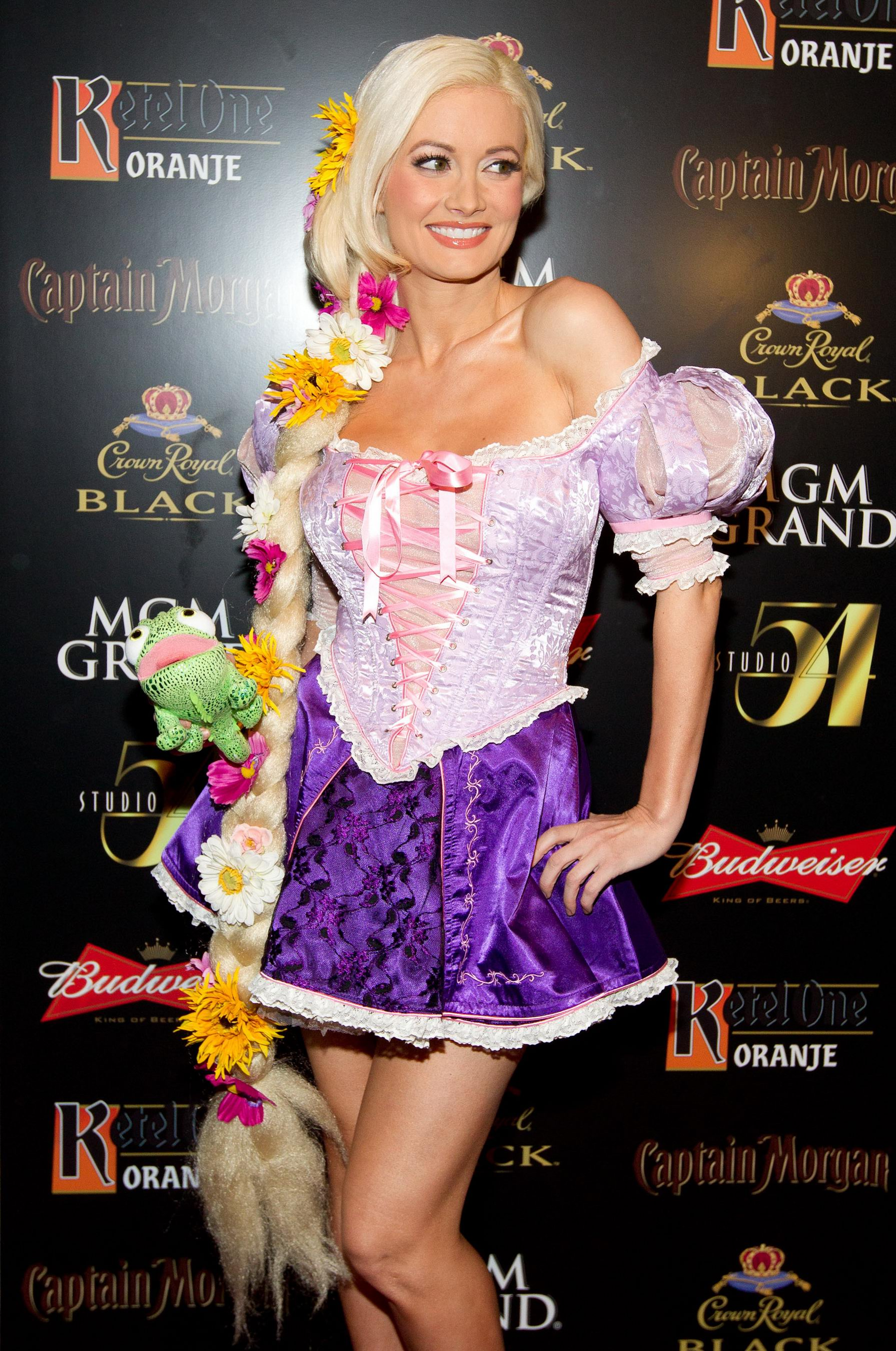 Holly Madison - 2011 Halloween party at Studio 54 in Las Vegas ...