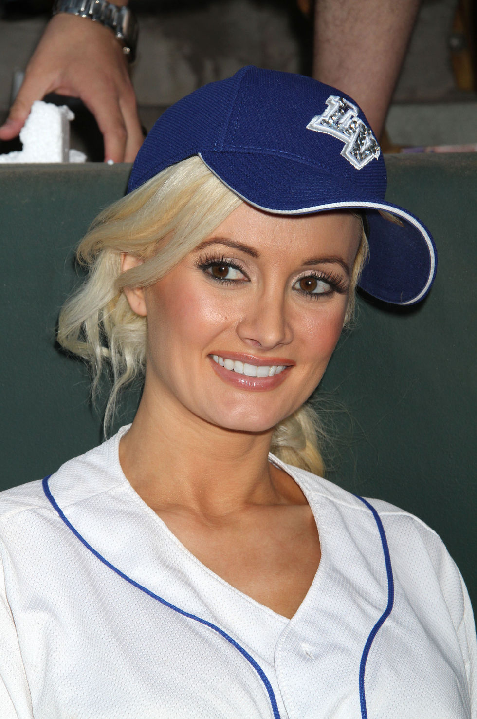 Holly Madison 2010 : holly-madison-at-cashman-field-11