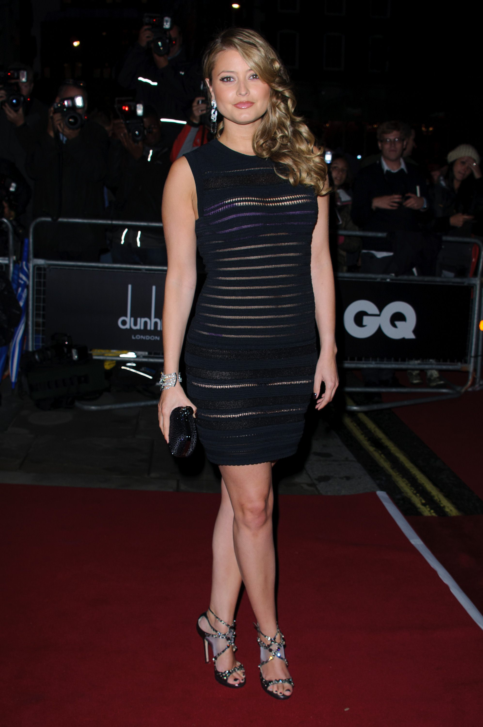 Back to FULL gallery Holly Valance – 2011 GQ Men Of The Year Awards