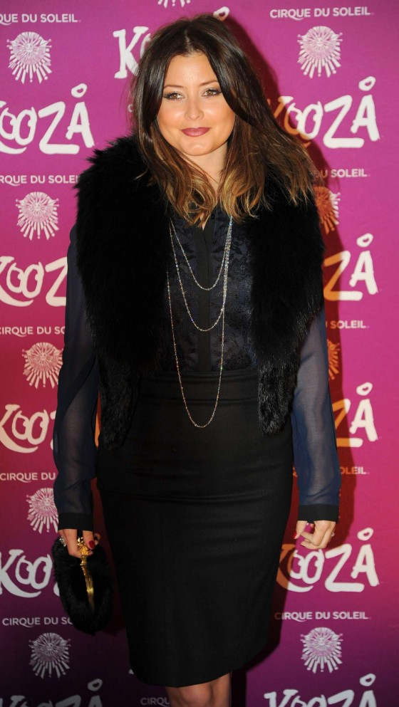 Holly Valance @ Opening Night of Cirque Du Soleil's Kooza - London 8 January 2013