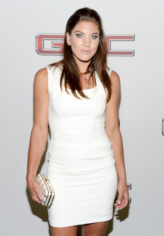 Hope Solo: ESPN 2013 Body Issue Party -02