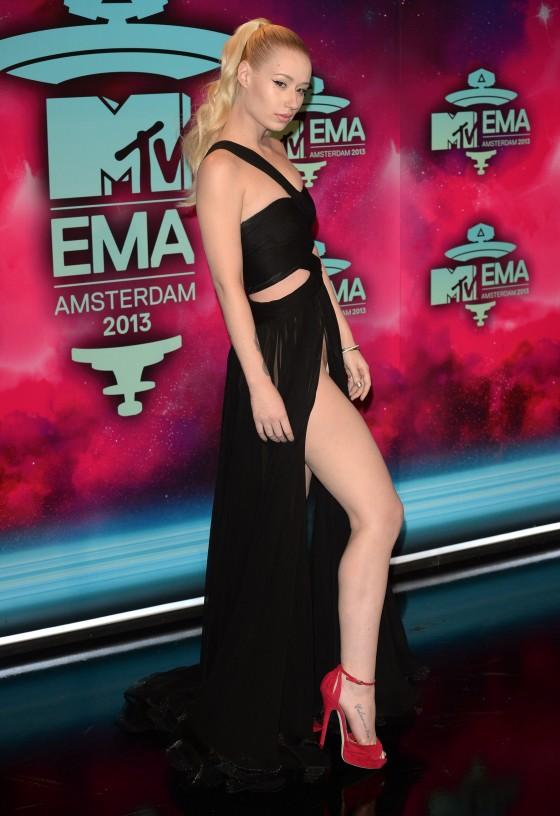 Iggy Azalea: 2013 MTV EMA -02