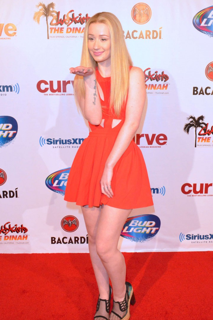 Iggy Azalea  Club Skirts Dinah Shore 2014 -20Dinah Shore 2014