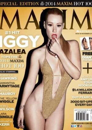 Iggy Azalea - Maxim Australia Magazine Cover (November 2014)