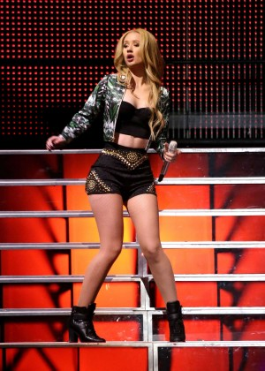 Iggy Azalea - Performs Live at Victoria's Secret PINK Nation Event in Las Vegas
