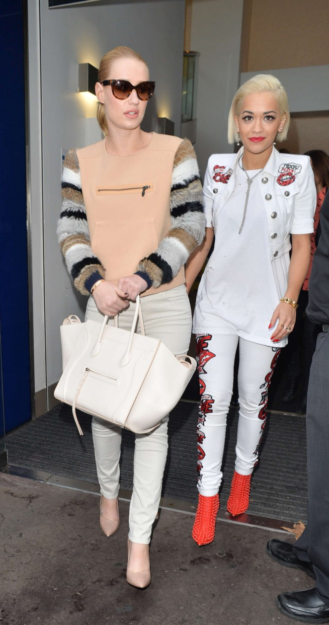 Iggy Azalea & Rita Ora - Capital FM in London