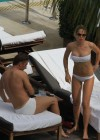 Ilary Blasi - In a White Bikini In Miami-24
