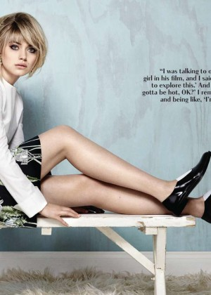Imogen Poots: Flare Canada -06