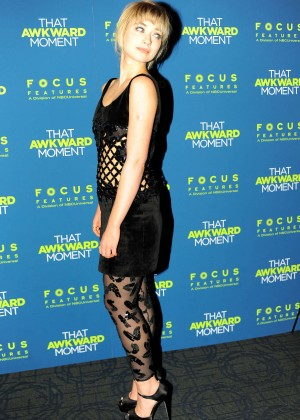 Imogen Poots: That Awkward Moment Premiere -01
