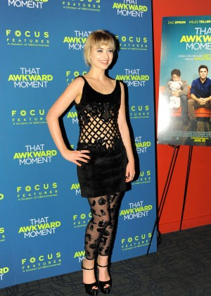 Imogen Poots: That Awkward Moment Premiere -02
