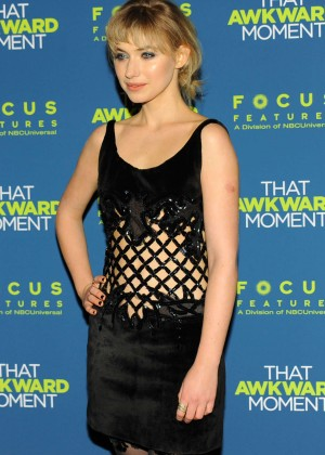 Imogen Poots: That Awkward Moment Premiere -07