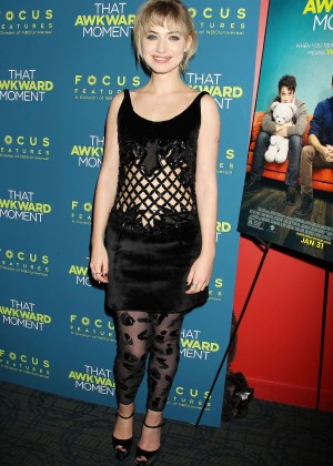 Imogen Poots: That Awkward Moment Premiere -10