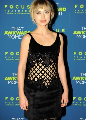 Imogen Poots: That Awkward Moment Premiere -13