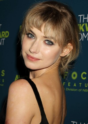 Imogen Poots: That Awkward Moment Premiere -14
