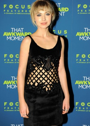 Imogen Poots: That Awkward Moment Premiere -15