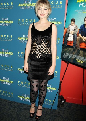 Imogen Poots: That Awkward Moment Premiere -17