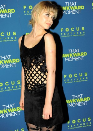Imogen Poots: That Awkward Moment Premiere -18