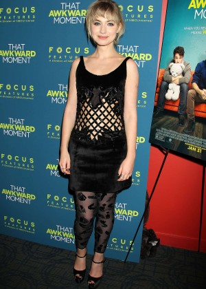 Imogen Poots: That Awkward Moment Premiere -19