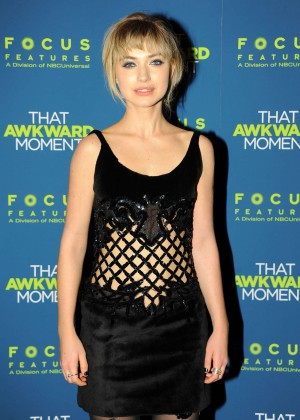 Imogen Poots: That Awkward Moment Premiere -22