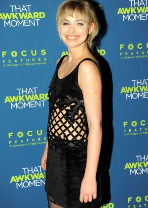 Imogen Poots: That Awkward Moment Premiere -25