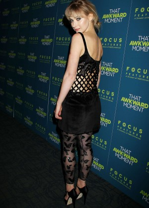 Imogen Poots: That Awkward Moment Premiere -26