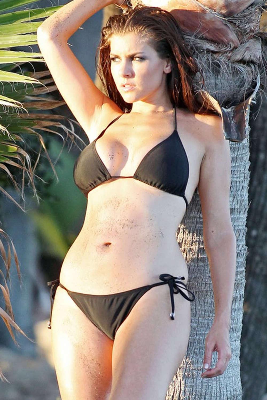 Imogen Thomas In Bikini For Calendar 2012 10 Gotceleb