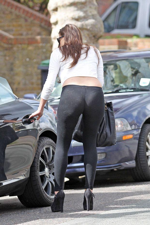 Costco grey leggings - 3 4