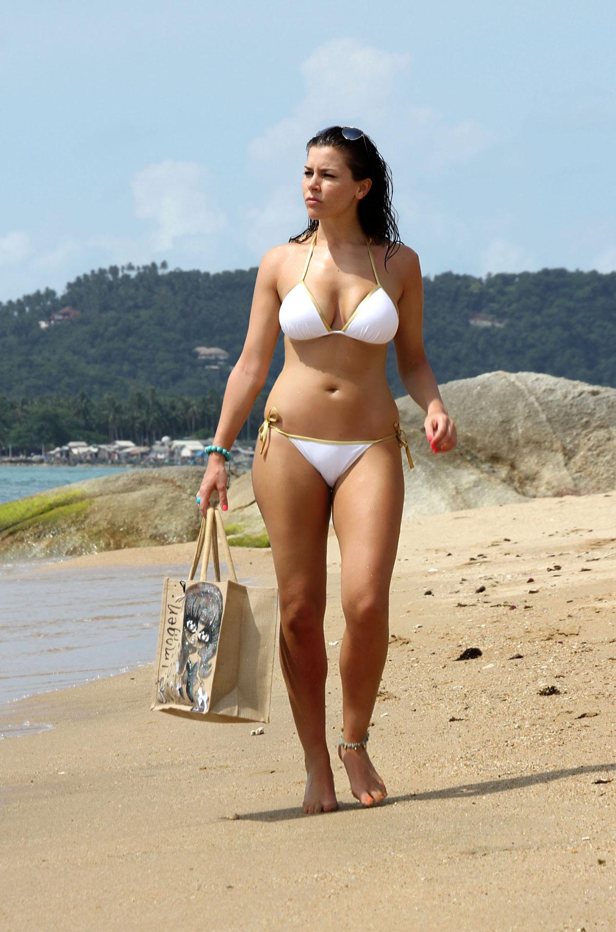 Imogen Thomas Bikini Nude Photos 46
