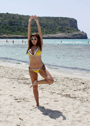 Imogen Thomas Bikini: 2014 in Spain -07