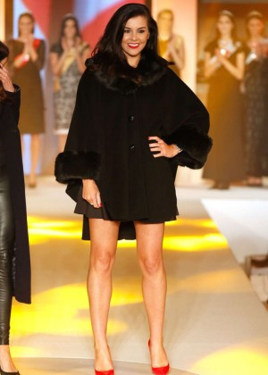 Imogen Thomas - CoatWalk in aid of Macmillan Cancer Support in London