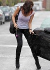 Imogen Thomas - Leggy in T-Shirt In London