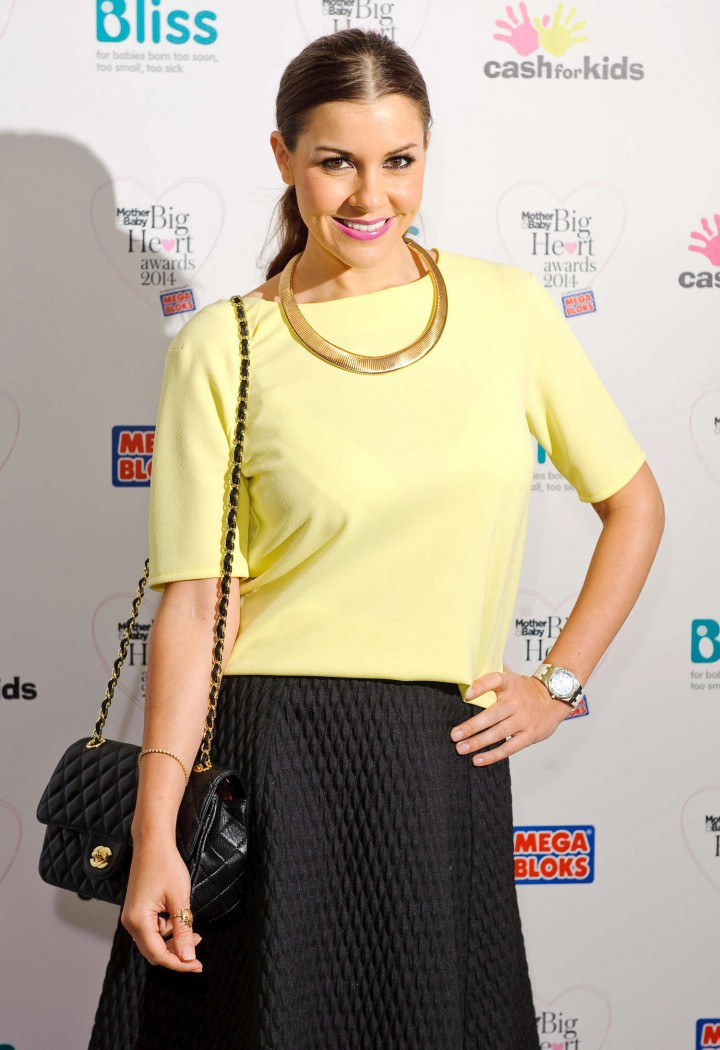 Imogen Thomas – Mother and Baby Big Heart Awards in London