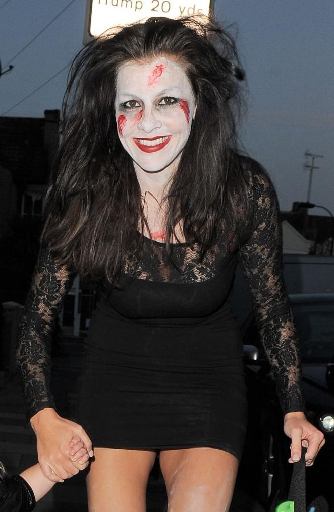 Imogen Thomas – Trick Or Treating for Halloween