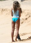 Indiana Evans In a bikini On the set of The Blue Lagoon in Maui-28