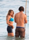 Indiana Evans New bikini pics from set of The Blue Lagoon in Maui-21