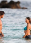 Indiana Evans New bikini pics from set of The Blue Lagoon in Maui-26