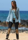 Indiana Evans On the set of Blue Lagoon in Maui-01