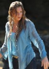 Indiana Evans On the set of Blue Lagoon in Maui-02
