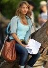Indiana Evans On the set of Blue Lagoon in Maui-07