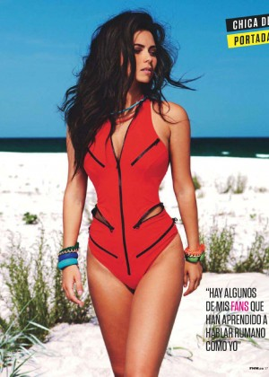 Inna - FHM Spain Magazine (January 2015)