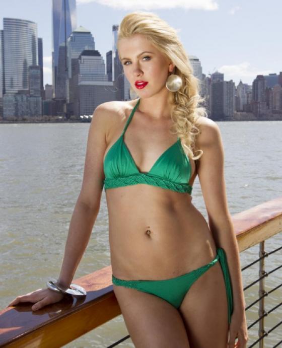 Ireland Baldwin – Bikini PhotoShoot on the Hudson River in New York-13