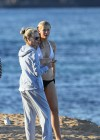 Ireland Baldwin - Wear Thomg Bikini in Maui-13